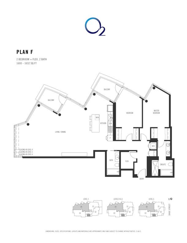 o2 plan f 2 bed  2 bath  flex 15501581 sqft (PDF)