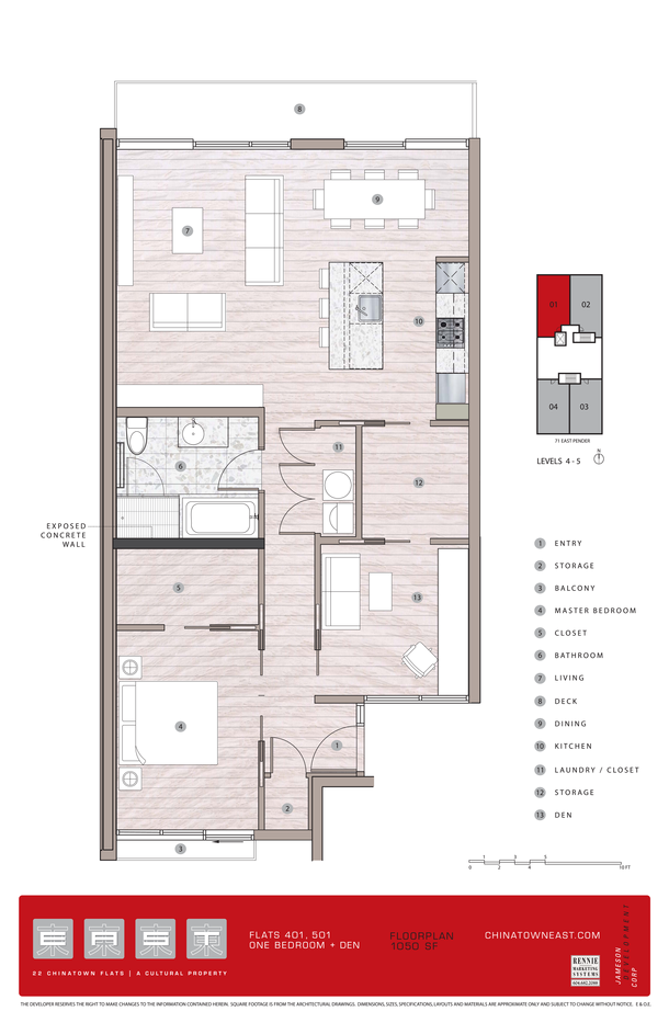flats 401 501 one bedroom and den (PDF) (1)