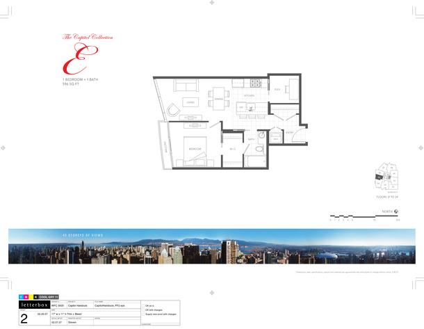 floor 31 to 34  plan 04  1 bedroom 596 sf (PDF)
