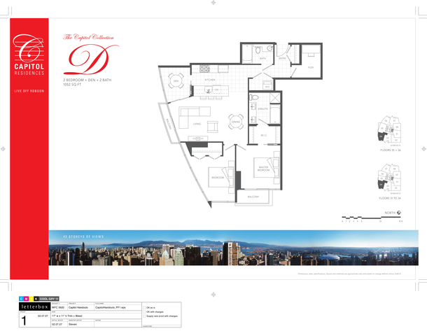 floor 31 to 36  plan 04  2bedroom and den 1052sf (PDF)