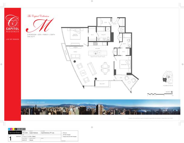 floor 37 to 40 plan 02 2 bedroom and den 1346 sf (PDF)