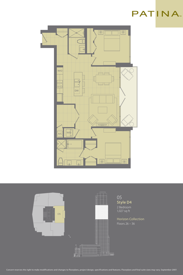 05 plan 1027sqft  floor 26 to 36 (PDF)