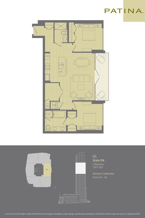 05 plan 1027sqft  floor 26 to 36 (PDF)