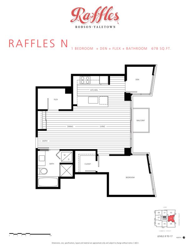 1 bedroom  den  flex  bathroom 678 sqft (PDF)