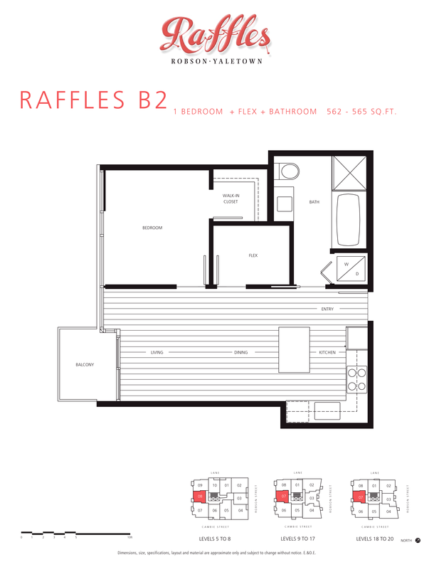 1 bedroom  flex  bathroom 562  565 sqft (PDF)