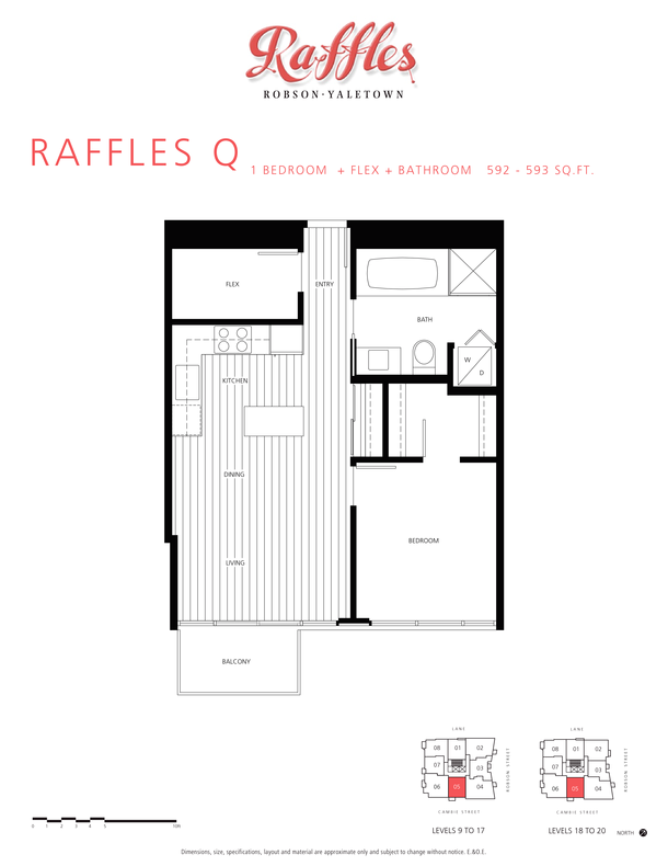 1 bedroom  flex  bathroom 592  593 sqft (PDF)