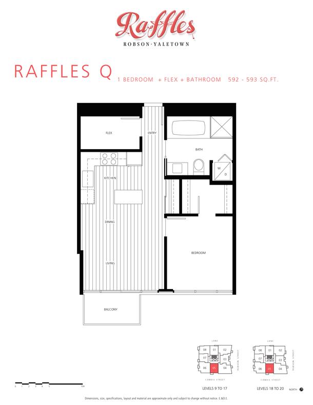1 bedroom  flex  bathroom 592  593 sqft (PDF)