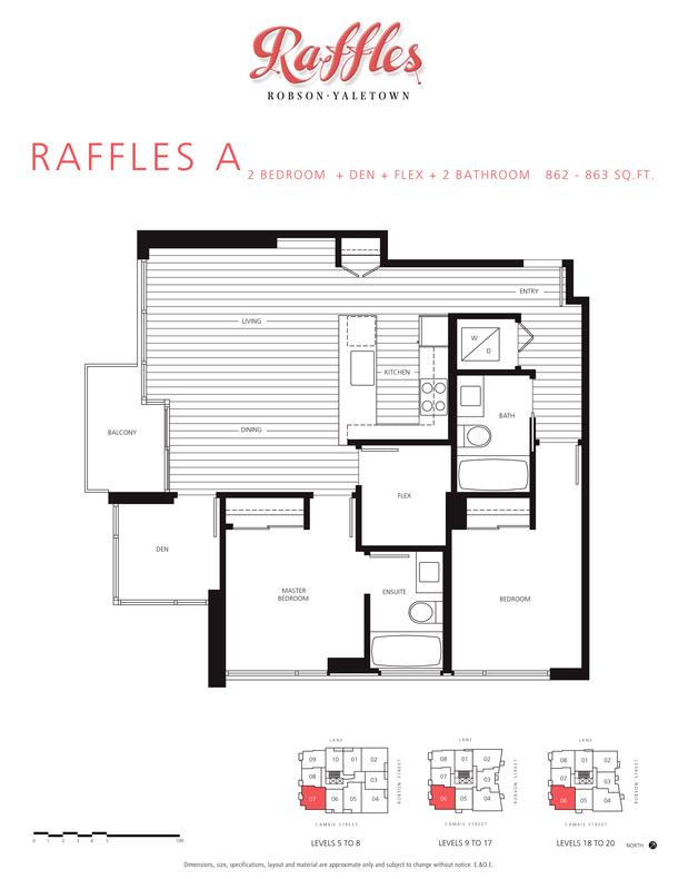 2 bedroom  den  flex  2 bathroom 862  863 sqft (PDF)