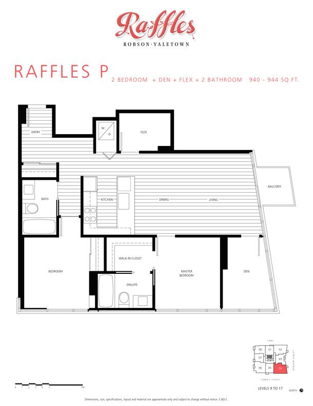 2 bedroom  den  flex  2 bathroom 940  944 sqft (PDF)
