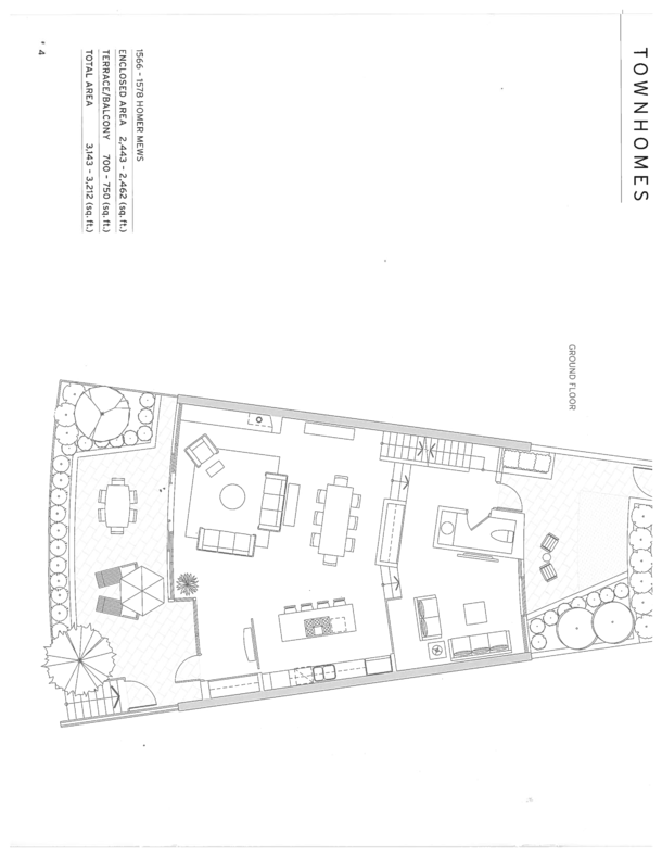 1560 homer mews townhouse floor plan 2 (PDF)