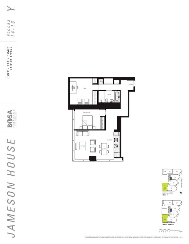 jameson 14 to 16 floor plans 1 bedroom 1190 sqft (PDF)
