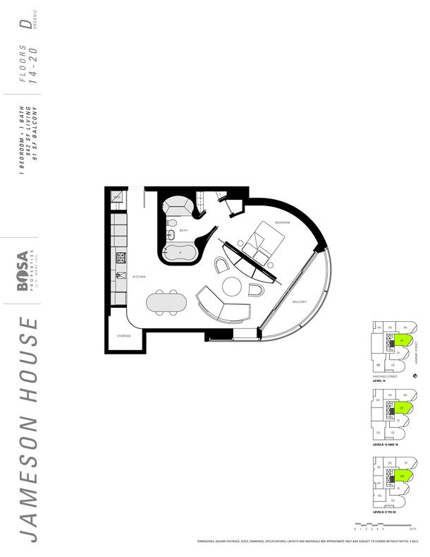jameson 14 to 20  floor plans 1 bedroom 942 sqft (PDF)