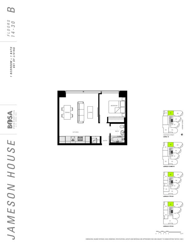 jameson 14 to 30  floor plans 1 bedroom 601 sqft (PDF)