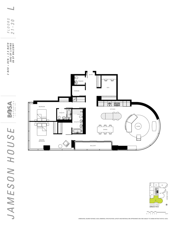jameson 21 to 30  floor plans 2 bedrooms 2043 sqft (PDF)