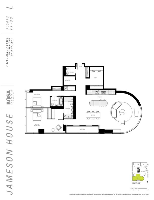 jameson 21 to 30  floor plans 2 bedrooms 2043 sqft (PDF)