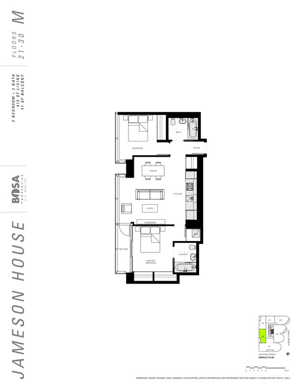 jameson 21 to 30  floor plans 2 bedrooms 915 sqft (PDF)