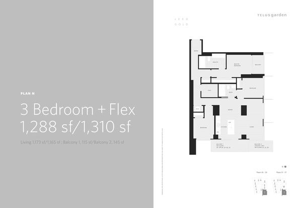 plan n 3 bed plus flex 1310sq ft (PDF)