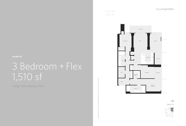 plan p1  3 bed plus flex 1510 sq ft (PDF)