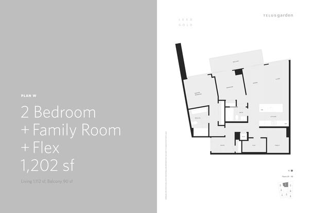 plan w  2 bed plus family room plus den 1202 sq ft (PDF)