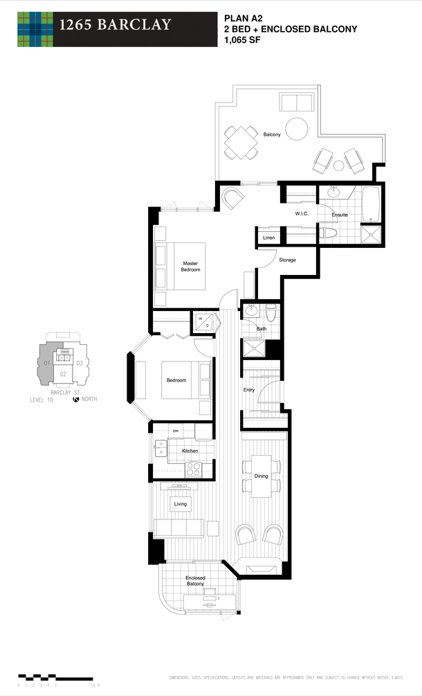 2 bedroom 1065 sf (PDF)
