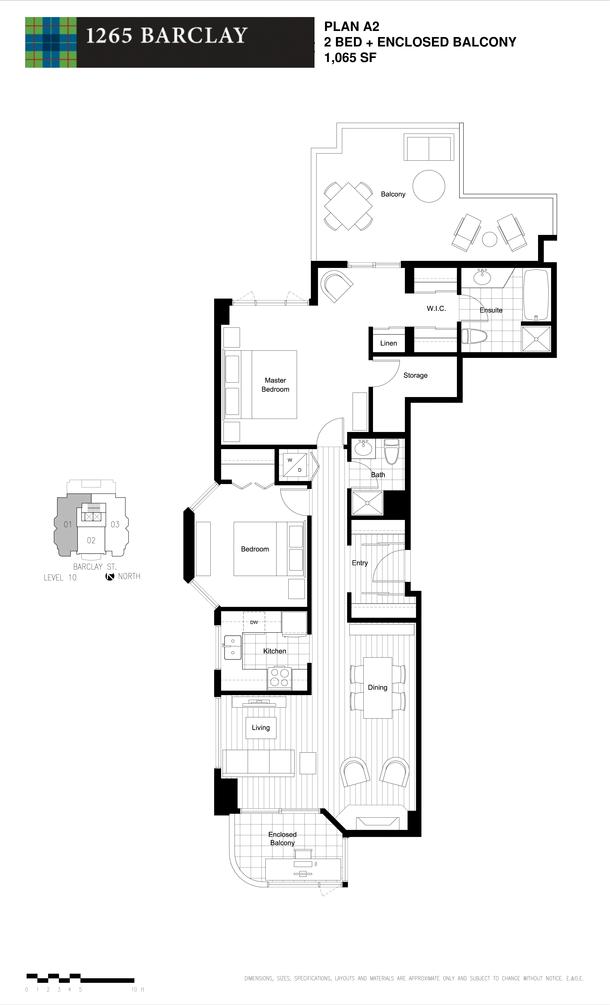 2 bedroom 1065 sf (PDF)