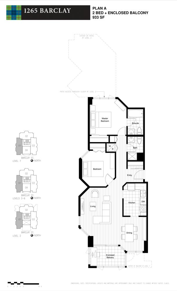 2 bedroom 933 sf (PDF)