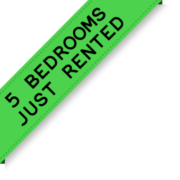 5 bedrooms