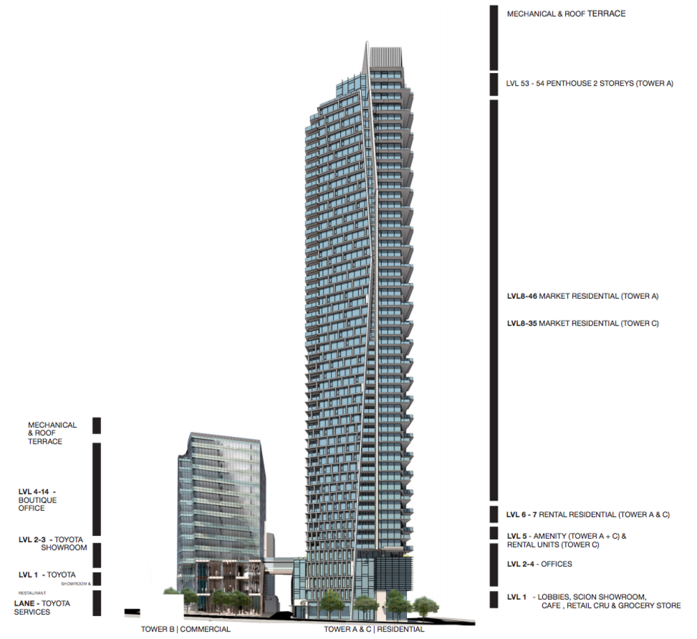 One Burrard Place 1289 Hornby Street Vancouver Condo
