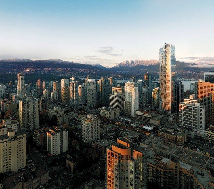 Downtown Vancouver: 1111 Alberni Street