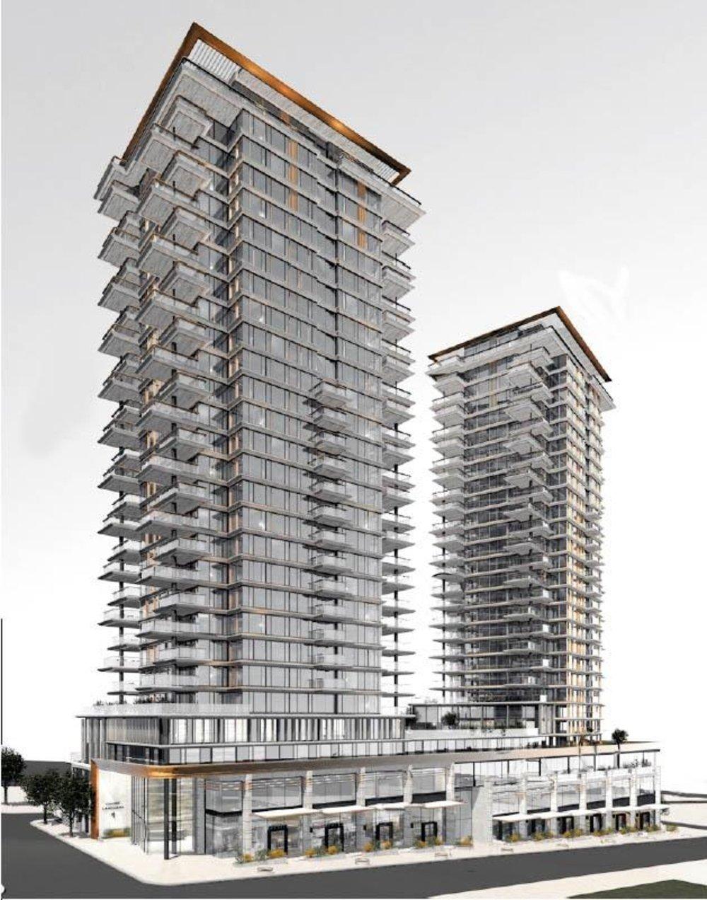 Landmark on robson 1488 robson street vancouver condo for Landmark design