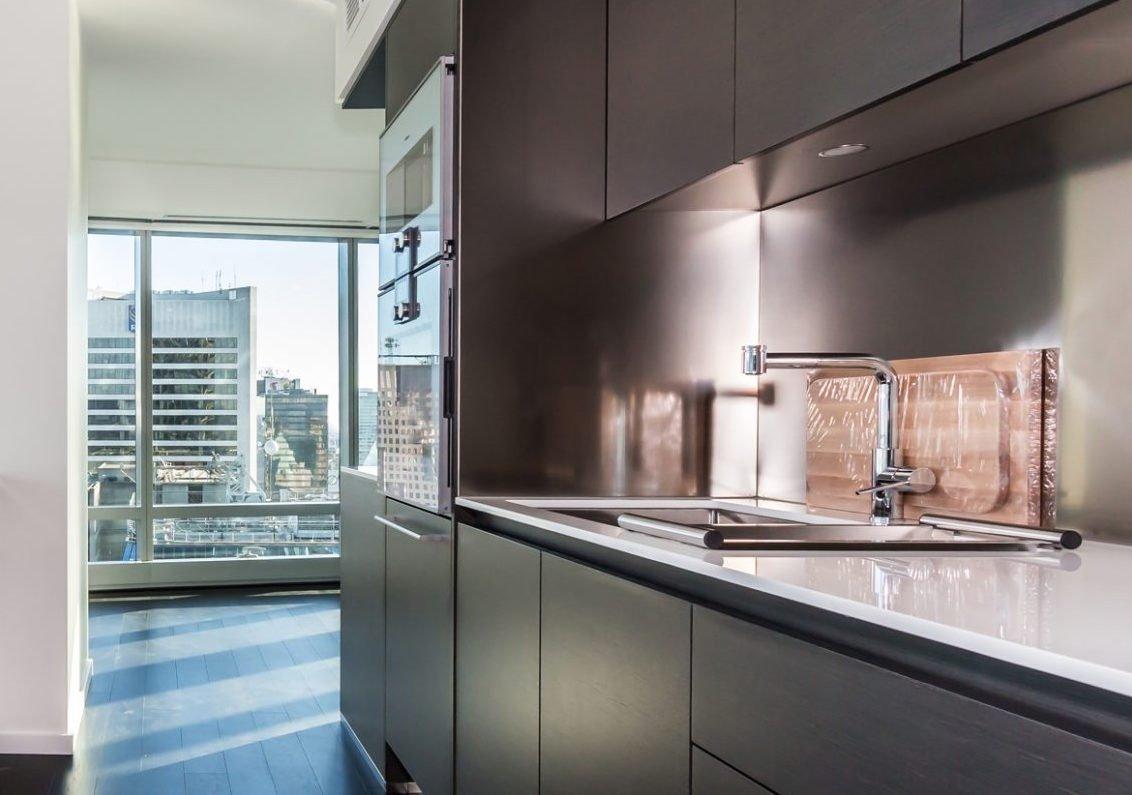 Trump Tower 1151 W Georgia Street Vancouver on Modern Italian Kitchen Design From Arclinea