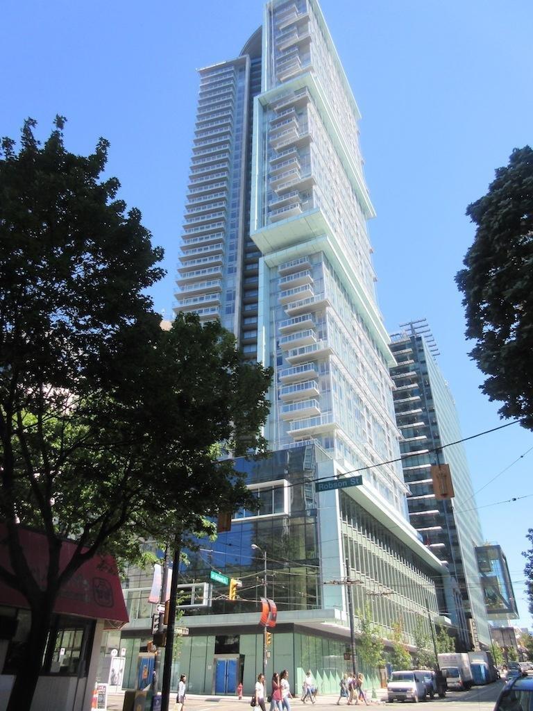 Telus Garden 777 Richards Street Vancouver Condo In