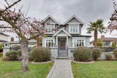 Real estate photography for a 7 Bedroom House in Vancouver