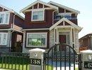 V988142 - 138 E 63rd Ave, Vancouver, British Columbia, CANADA