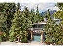 V1080231 - 1 - 2240 Nordic Drive, Whistler, British Columbia, CANADA
